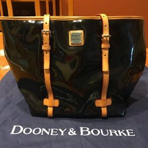 Dooney & Bourke Patent Leather Tote